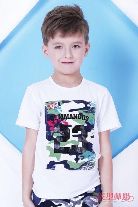 5岁男孩超酷发型 小脸5岁男童发型图片 发型师姐