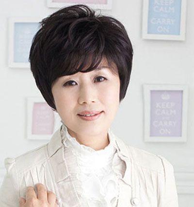 老年短发烫发发型 中老年人烫发发型(4)