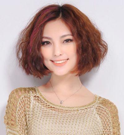 中年妇女小卷烫_适合中年妇女圆胖脸烫发发型图片 胖脸女生烫头发型图_发型师姐