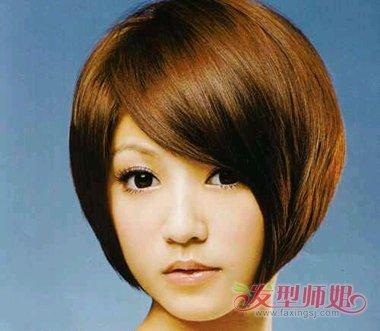 2017女圆脸沙宣新发型 短发圆脸适合的沙宣发型