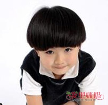 男宝宝流行什么发型 男宝宝西瓜头发型图片