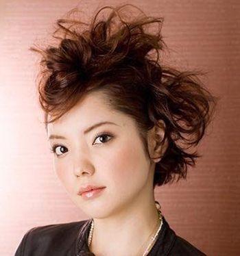 中年扎马尾怎样盘发 中年女性简单马尾盘发发型(2)图片