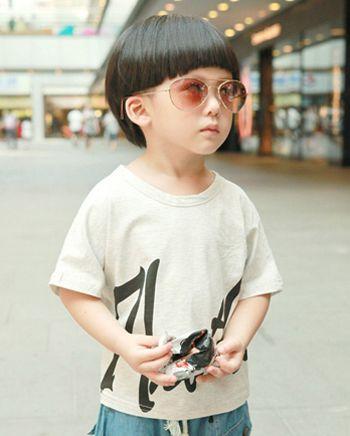 3岁男孩剪什么发型好看 3岁男宝宝发型图片 发型师姐图片