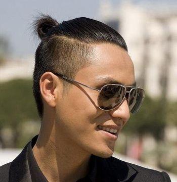 男生长头发应该怎么打理 男生长发扎辫子发型(4)图片