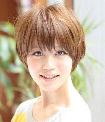 方脸适合什么样的刘海发型 适合方脸的刘海发型图片图片