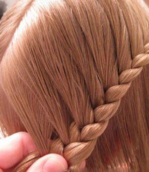 儿童编辫子的发型图解