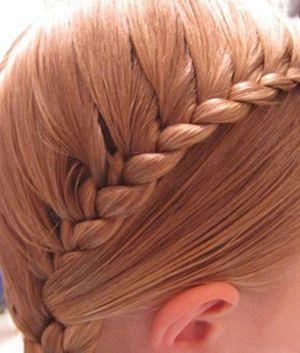 step7 step8 步骤七:将另外一侧头发按照上述同样的操作进行编织.图片