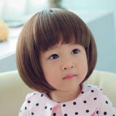 女宝宝蘑菇头发型 小孩蘑菇头发型图片 2 发型师姐