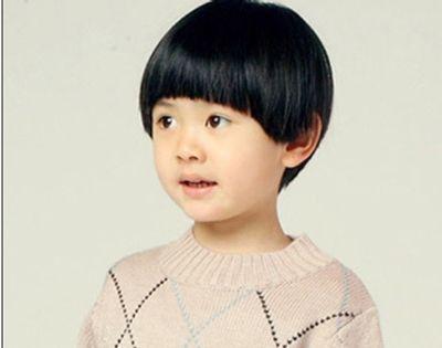 女宝宝蘑菇头发型 小孩蘑菇头发型图片(4)
