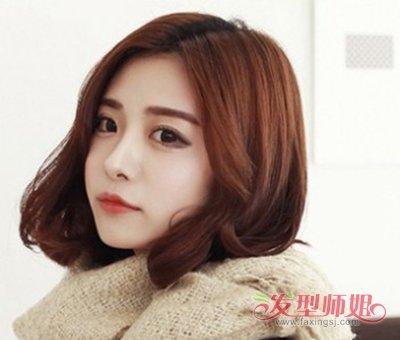 >> 中短头发染什么颜色好看 短头发适合的染发发型图片   中 短发发型图片