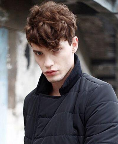 卷发 >> 男胖子自来卷剪什么发型 男生短发自来卷造型  卷 烫发造型图片
