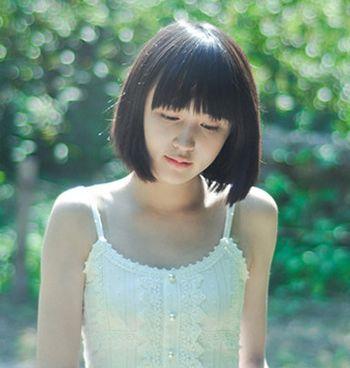 长脸女生剪什么短发好看 女学生长脸适合的短发发型图片(3)图片