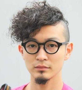 理发店男生卷发发型 适合男生的卷发发型图片