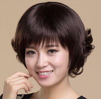 今天我们就来看看适合中老年人的 烫发发型吧,让小编用 中老年短发图片