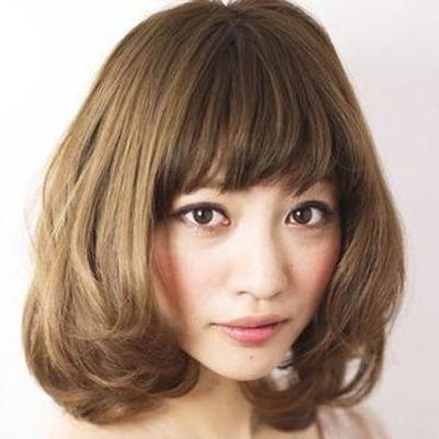 大脸适合什么短发发型 2015适合大脸女生的短发发型图片 发型师姐图片