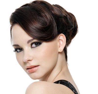 中年职业女性圆脸发型 适合圆脸女性的办公室发型图片图片