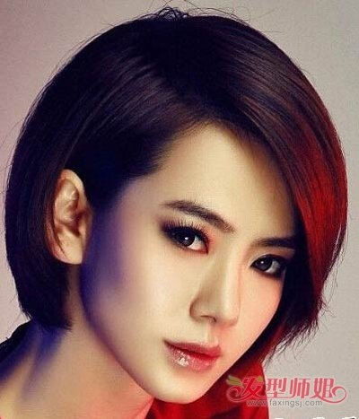 2017时尚沙宣短发发型 今年流行的沙宣短发发型图片 发型师姐
