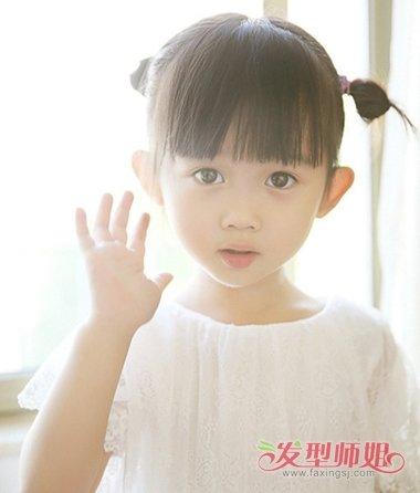 小孩蘑菇头怎么扎头发 怎样扎小孩蘑菇头短发(2)