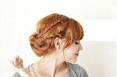 五十岁女人方脸发型 45岁方脸盘发DIY(5)_发型师姐