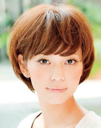 谢娜蘑菇头短发图片 女生蘑菇头短发_发型师姐图片
