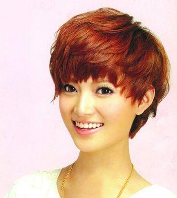 圆脸适合的沙宣短发发型 圆脸沙宣发型图片 发型师姐