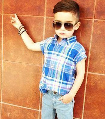 适合7至8岁男儿童的发型有哪些 7到8岁男孩发型设计图片图片