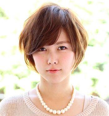 脸大的人适合什么刘海 大脸女生刘海发型图片