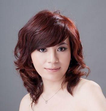 中老年妇女适合什么烫发发型 老年人适合的染发颜色(2图片