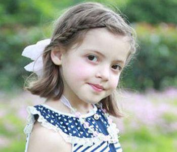 小孩短发怎么梳辫子 儿童扎辫子发型图片图片
