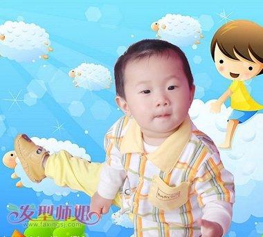 最新男宝宝发型 男宝宝短发发型大全图片