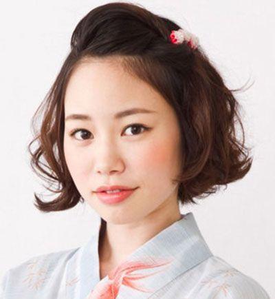 头发少脸大怎么打理发型 脸庞大头发少烫短发好看吗(4图片