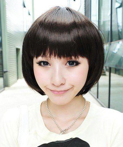 发型设计 短发 >> 小脸大嘴女生做什么短发好看 适合小脸女生的短发