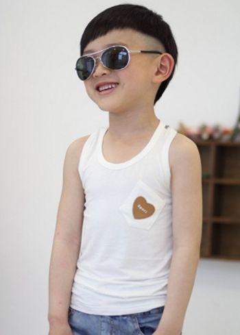 小男生蘑菇头短发发型 小孩蘑菇头发型图片(3)