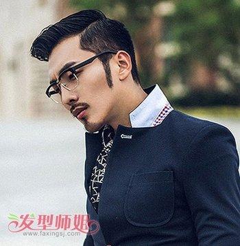 长方形脸型男生有什么好打理的短发 适合长方脸男生的时尚短发发型图