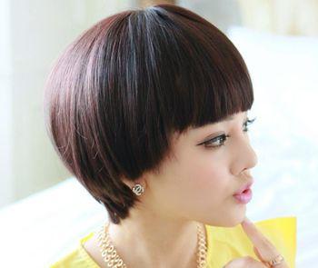 圆脸大脸女生适合蘑菇头吗 大圆脸蘑菇头发型设计