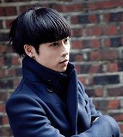 男生长脸蘑菇头发型 长脸蘑菇头发型图片(2)图片