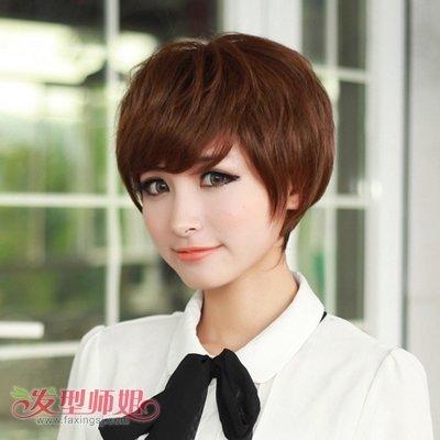 ť�生纹理烫学生头 ɀ�合学生的纹理烫发型图片 4 ŏ�型师姐