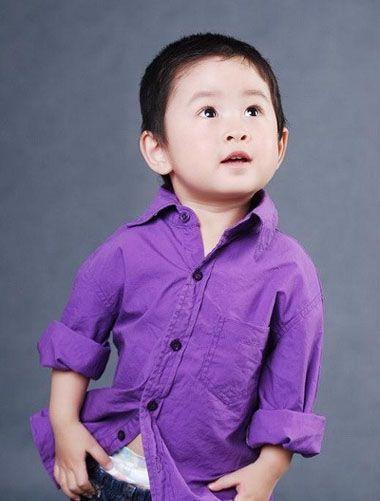 1到3岁小男孩超短发发型-3岁小男孩发型图 1到3岁男宝宝个性发型 发