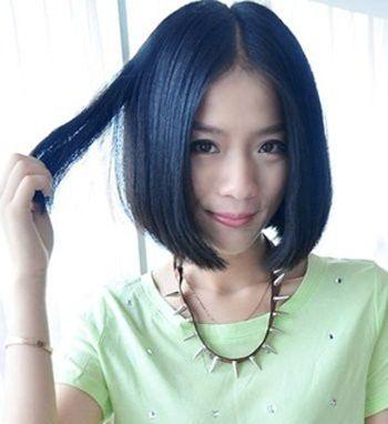 脸盘大的女生弄什么发型好看 大脸女生适合的发型图片图片