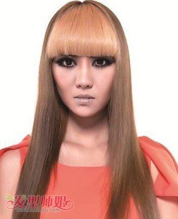 对于长脸女孩弄的沙宣发型 长脸女生适合沙宣长发发型图片