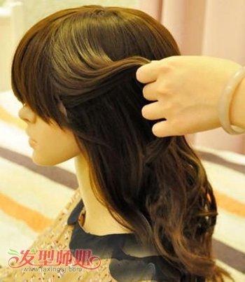 儿童编蝎子辫子发型 蝎子辫发型扎法图解图片