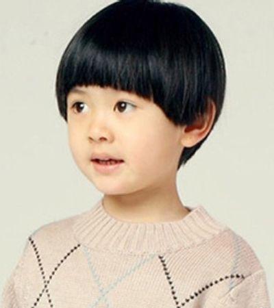 宝宝发型图片 男宝宝蘑菇头发型