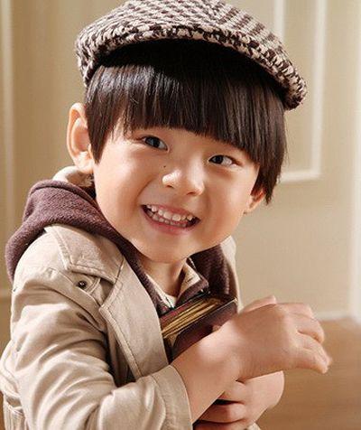 宝宝发型图片 男宝宝蘑菇头发型(4)
