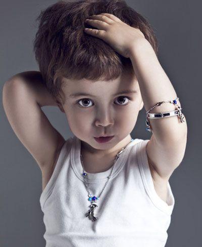 三岁男宝宝发型 三岁小男孩夏季发型图片