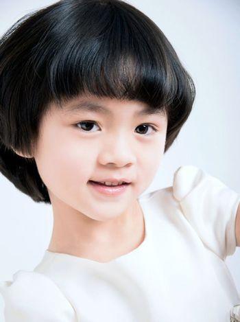 小孩沙宣发型 可爱的沙宣发型图片(2)图片