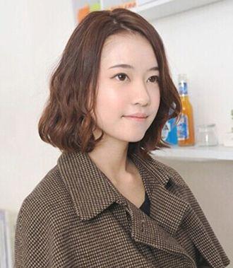 短发蛋卷头好打理吗 短发蛋卷烫发发型图片(3)