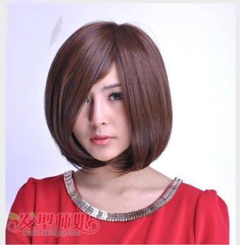 脸形长适合沙宣发型吗 长脸型适合的沙宣发型图片(3)图片