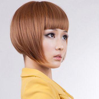 圆脸适合沙宣短发吗 适合圆脸的沙宣短发发型图片(2)图片