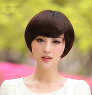 圆脸适合沙宣短发吗 适合圆脸的沙宣短发发型图片(3)图片