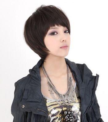 沙宣短发应该怎么做造型 12岁女生沙宣短发发型图片 发型师姐